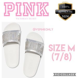VS PINK SINGLE STRAP SLIDE / Size M (7/8)